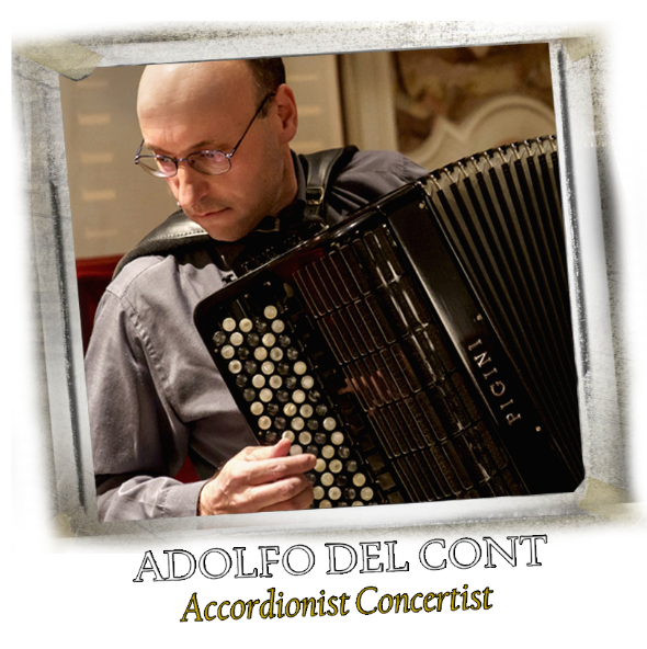 Italian Accordion Player - ADOLFO DEL CONT